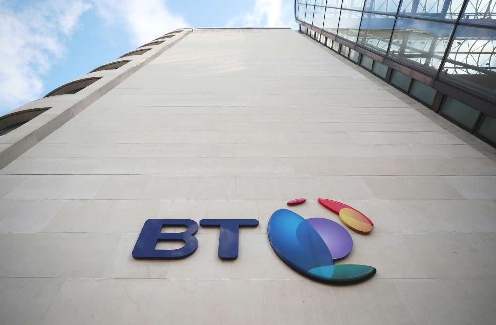 BT to close 90% of UK office locations