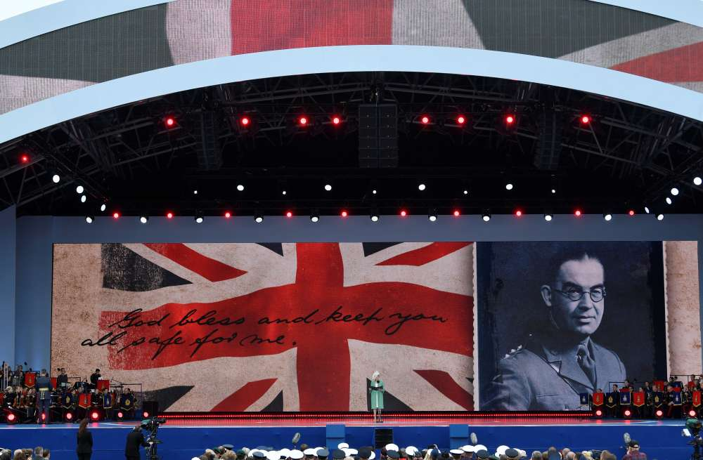 'Bravery and sacrifice': Leaders gather in Portsmouth to remember D-Day