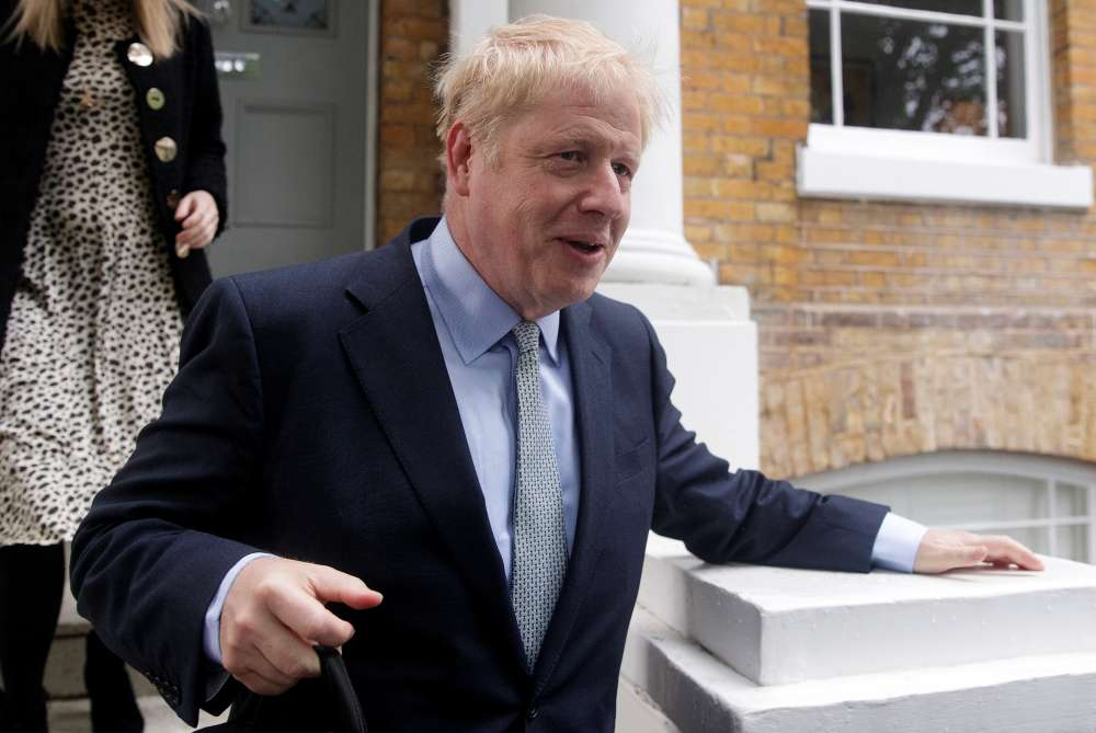 Brexiteer Boris Johnson far ahead in first round of contest to replace UK PM