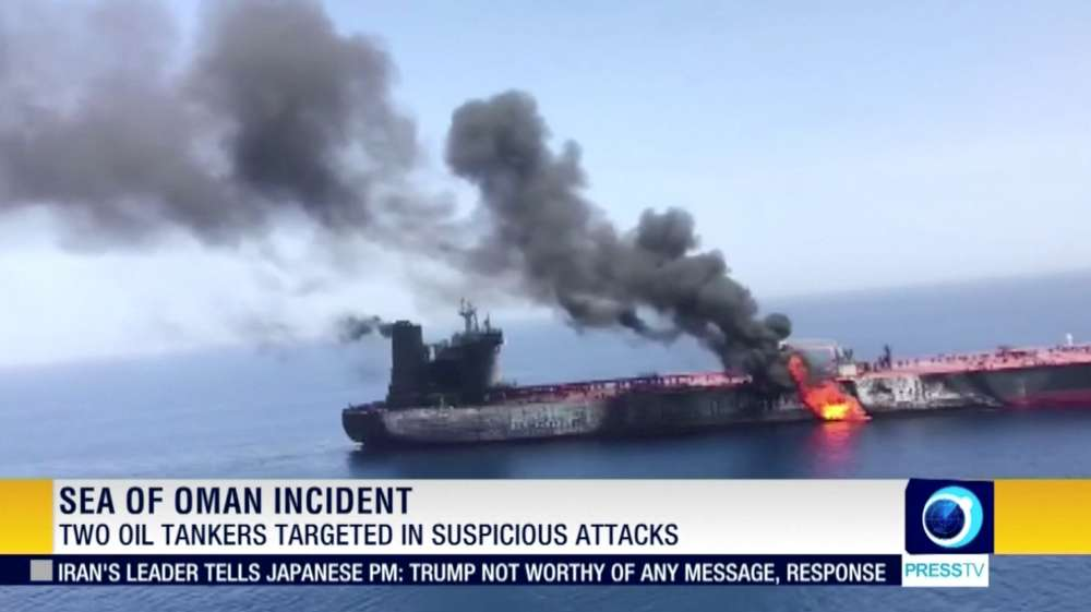 China says nobody wants war after tanker attacks in Gulf of Oman