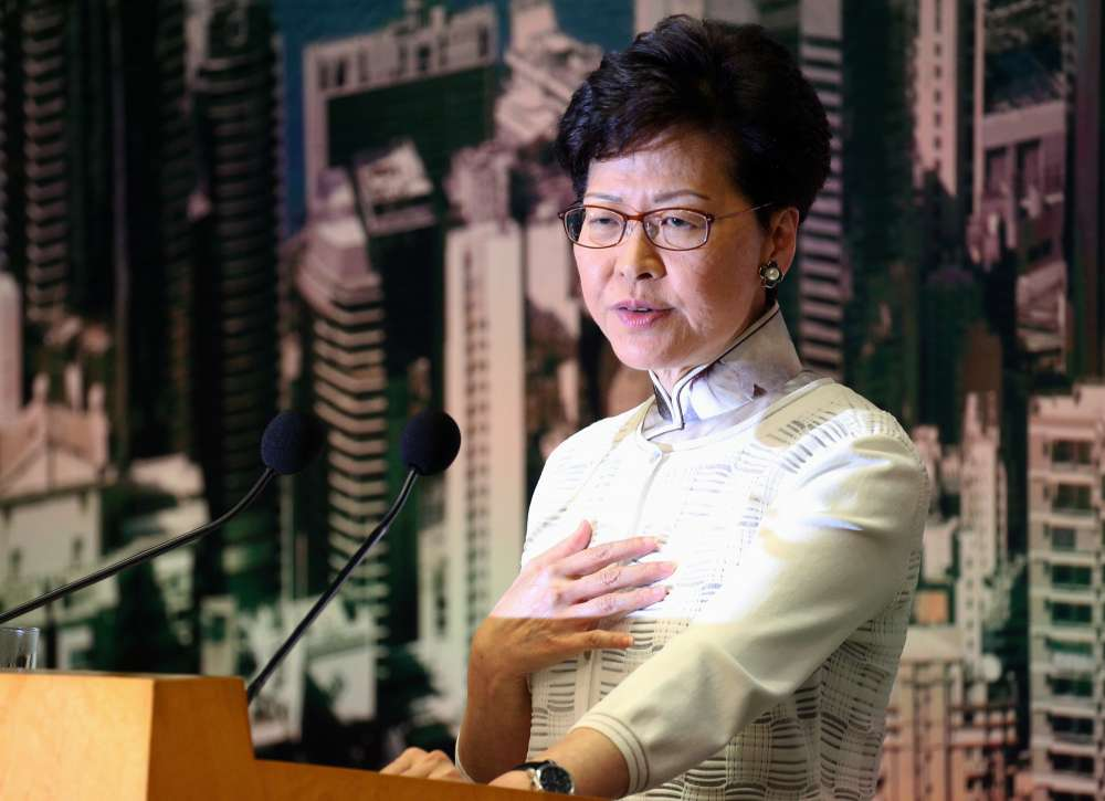 Tens of thousands expected to rally to demand Hong Kong leader steps down