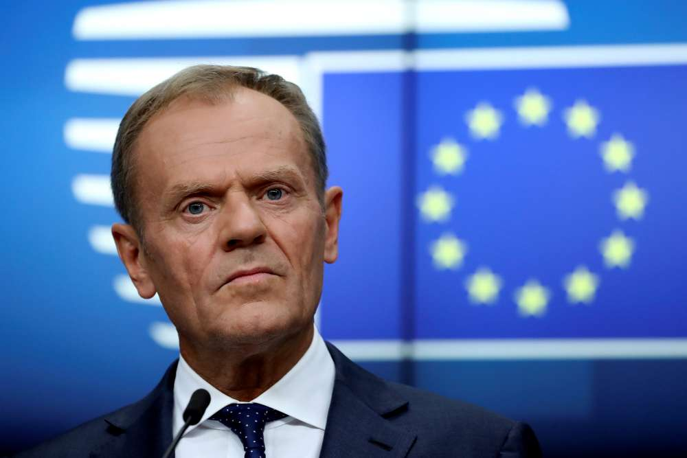 EU's Tusk: Trump is