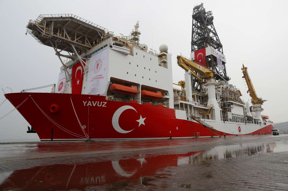 EU signals sanctions on Turkey over Cyprus drilling - draft