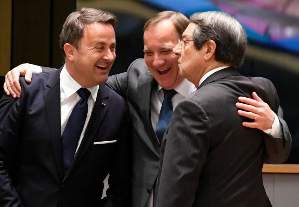 EU shows solidarity with Cyprus
