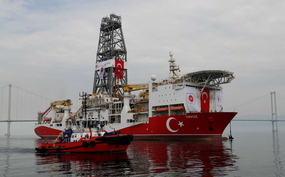 France says Turkey's drilling ship violates sovereignty of Cyprus