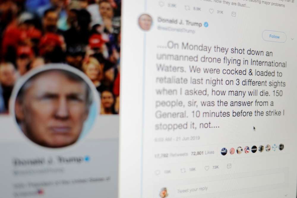 Trump's half-cocked and loaded tweet draws barrage of reaction