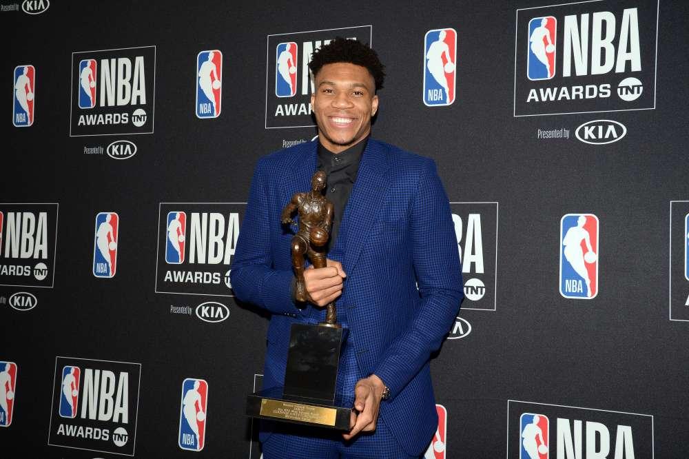 NBA awards: Antetokounmpo wins MVP