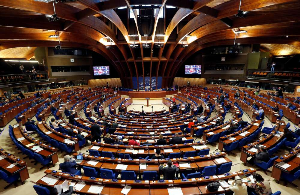 Council of Europe readmits Russia