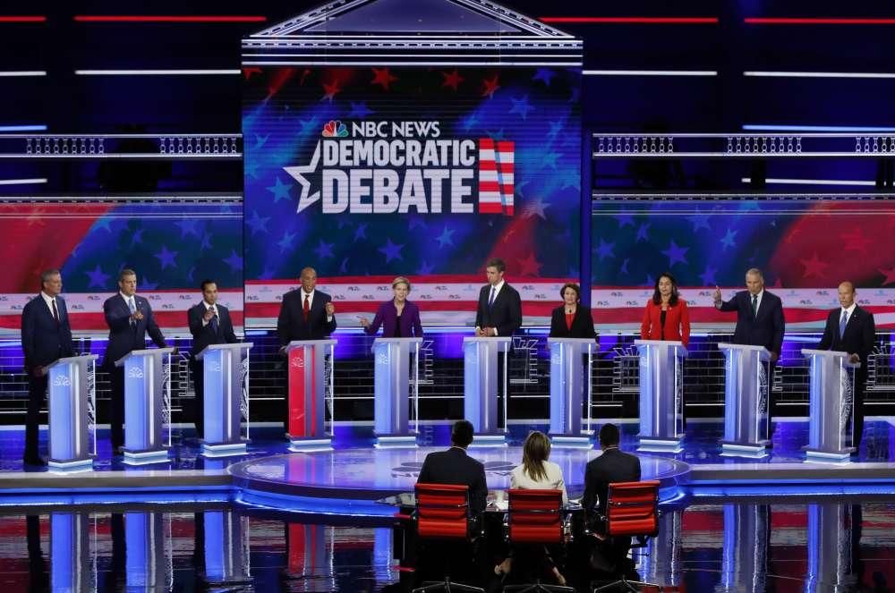 Democrats clash on healthcare
