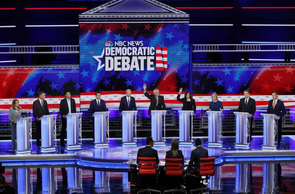 Harris challenges Biden in breakout U.S. debate performance