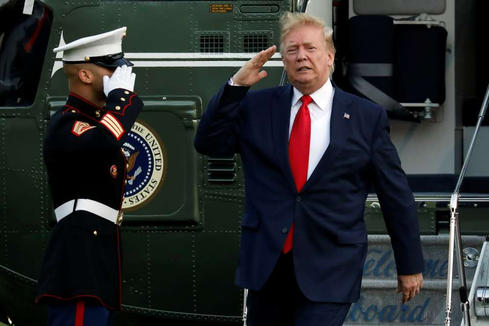 Trump plans tanks and flyovers at Fourth of July celebration in Washington