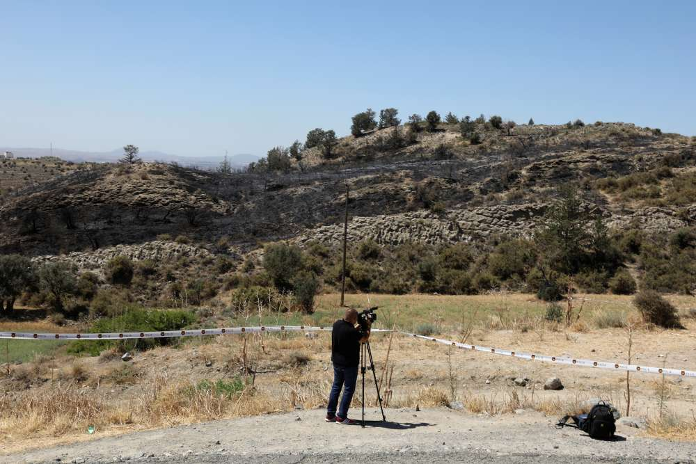 Republic of Cyprus evaluating information after projectile explodes in Turkish-held north