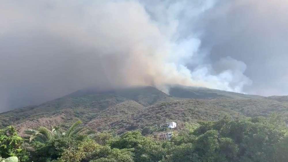 Volcano erupts on Italian island of Stromboli