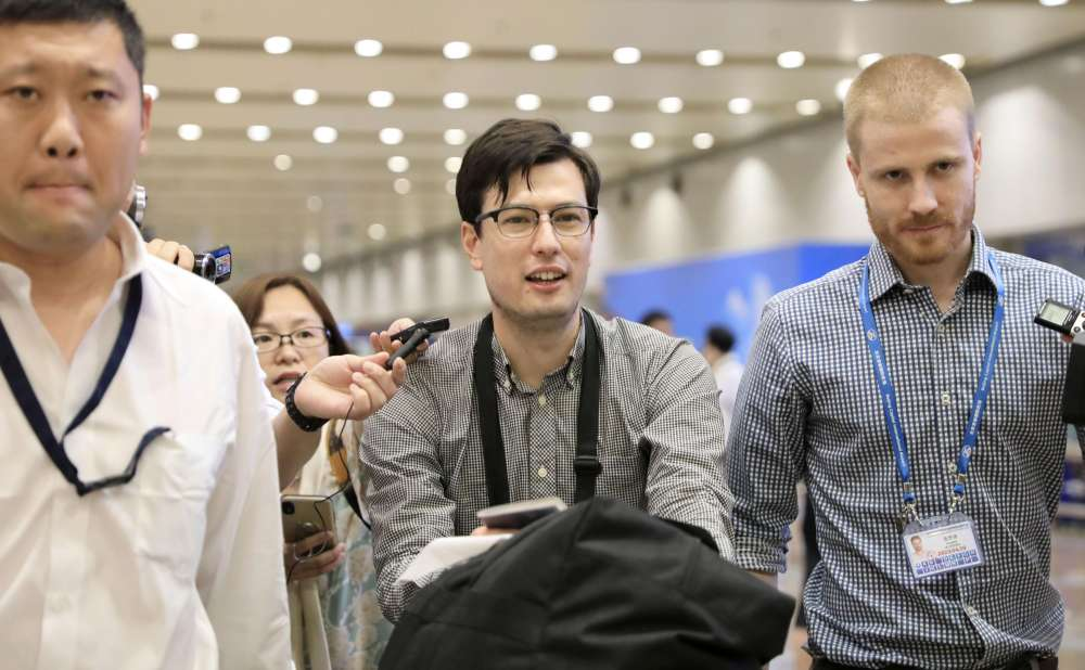 Australian student released from North Korea says he's