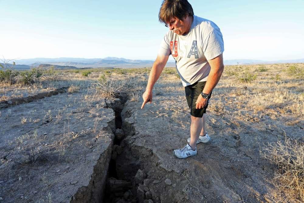 California desert braces for aftershocks from major 7.1 quake