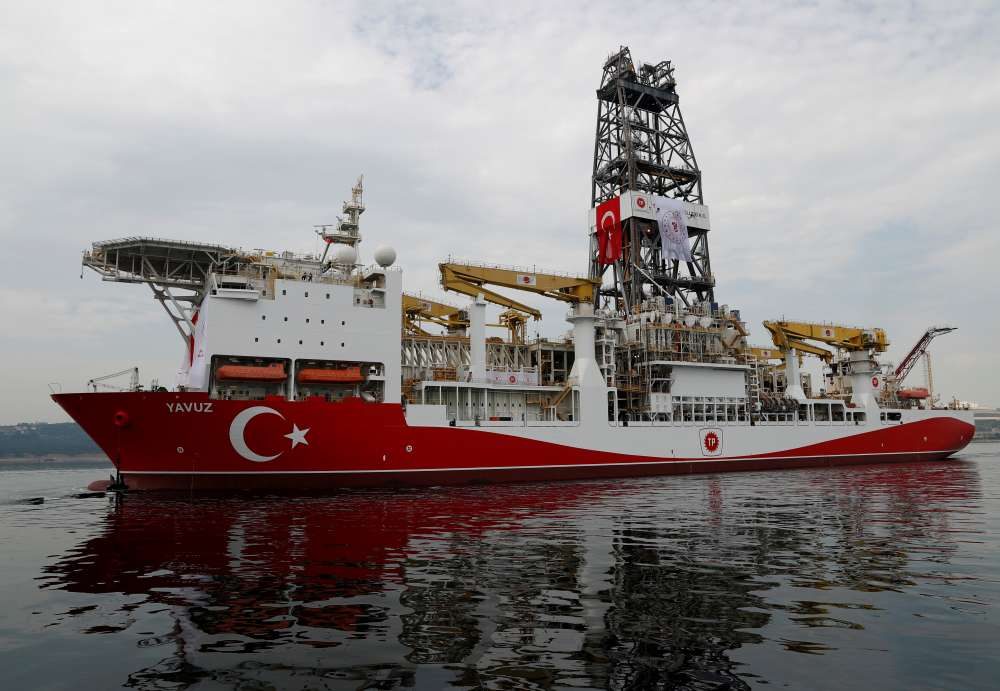 "Nicosia closely moniting course of Turkish drill-ship ""Yavuz"" in Cyprus' EEZ"
