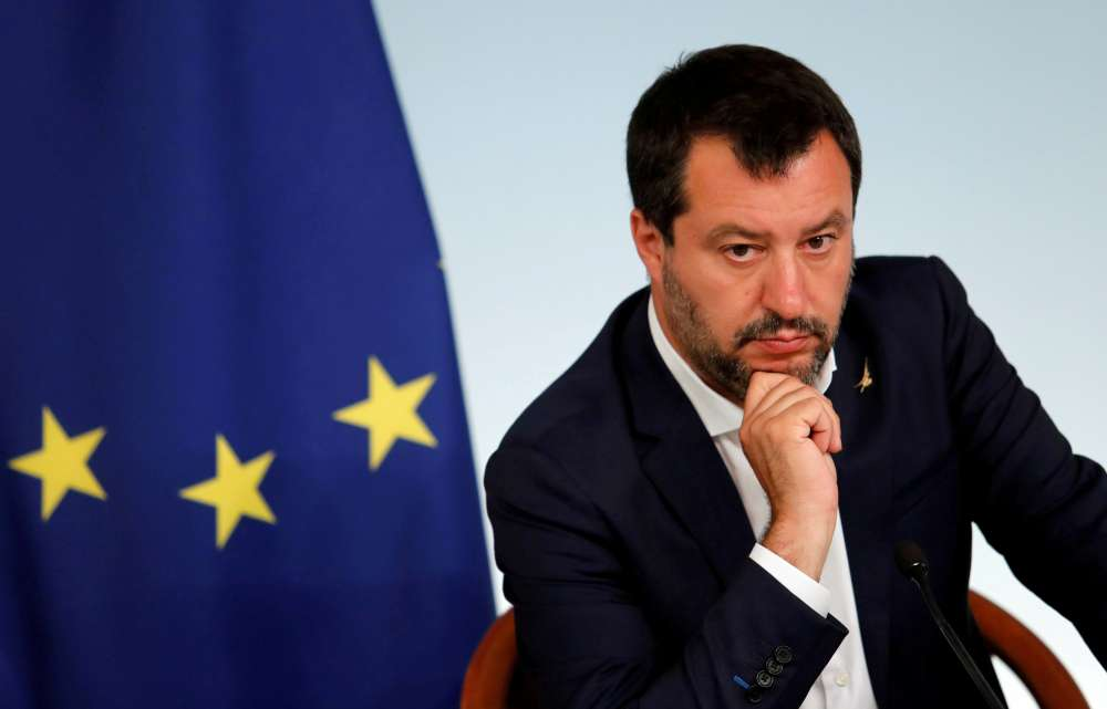 How Italy's 'Captain' Salvini steered his ship onto the rocks