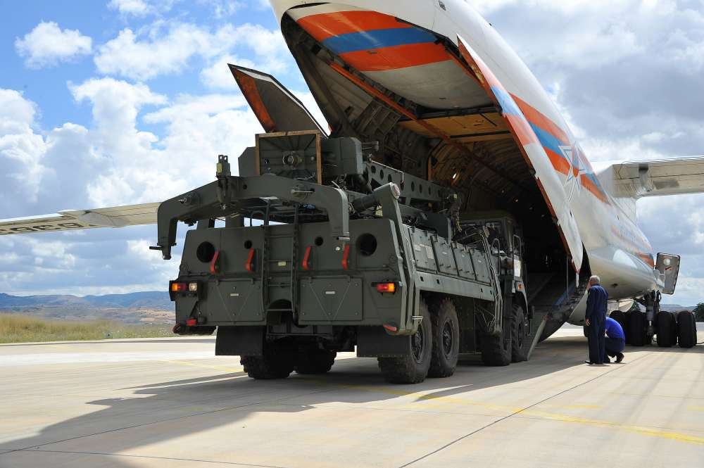 Russia delivers more air defence equipment to Turkey