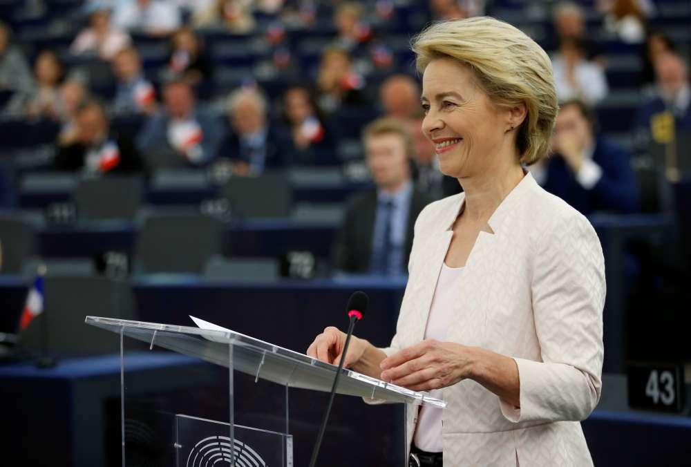 Von der Leyen lays out cards to EU lawmakers ahead of vote