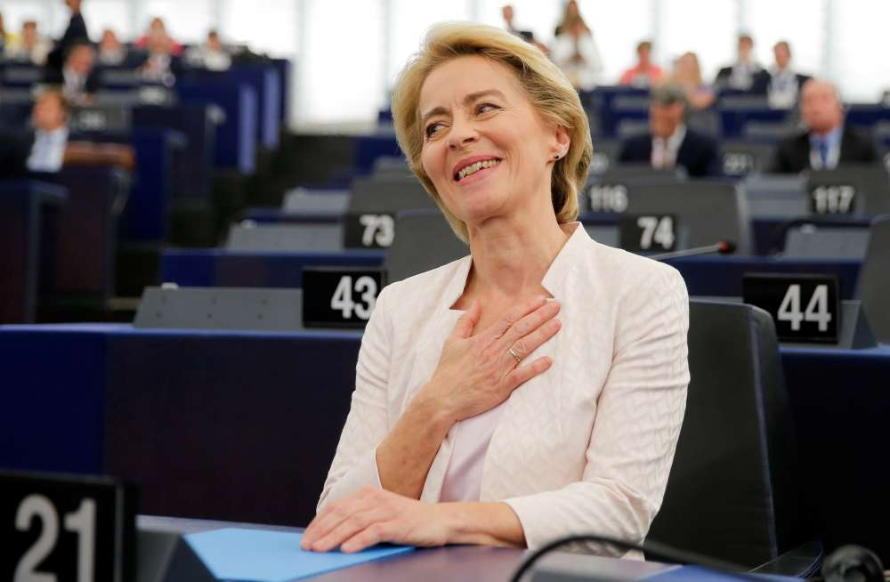 EU parliament confirms von der Leyen as next Commission president