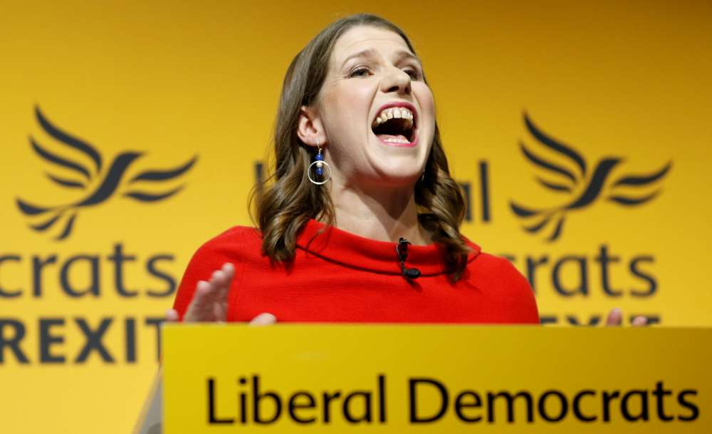 Britain's anti-Brexit Liberal Democrats name Jo Swinson as new leader