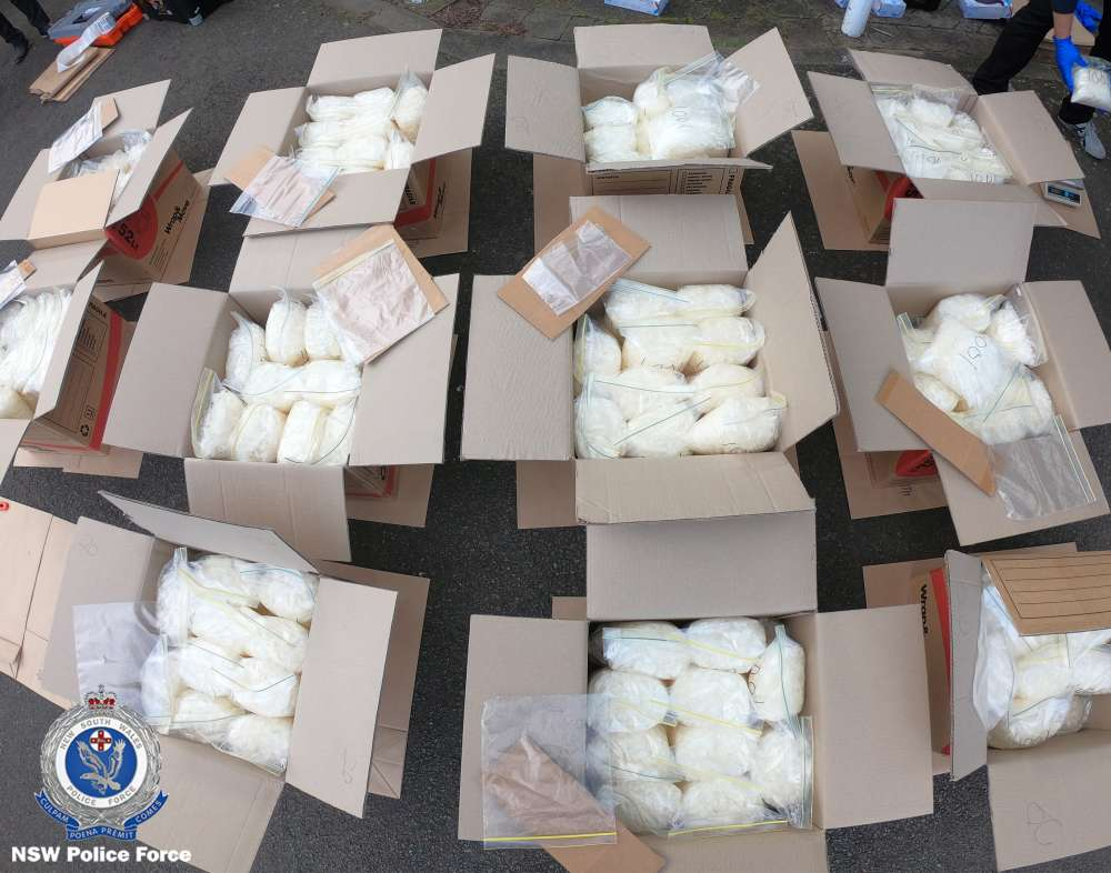 Bad driving leads to $140 m drug bust in Sydney