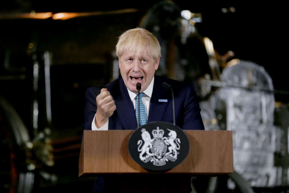 UK PM Johnson heads to Scotland as local leader attacks no-deal Brexit