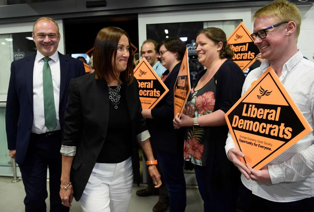 UK's pro-EU Liberal Democrats win parliamentary seat in blow to PM Johnson