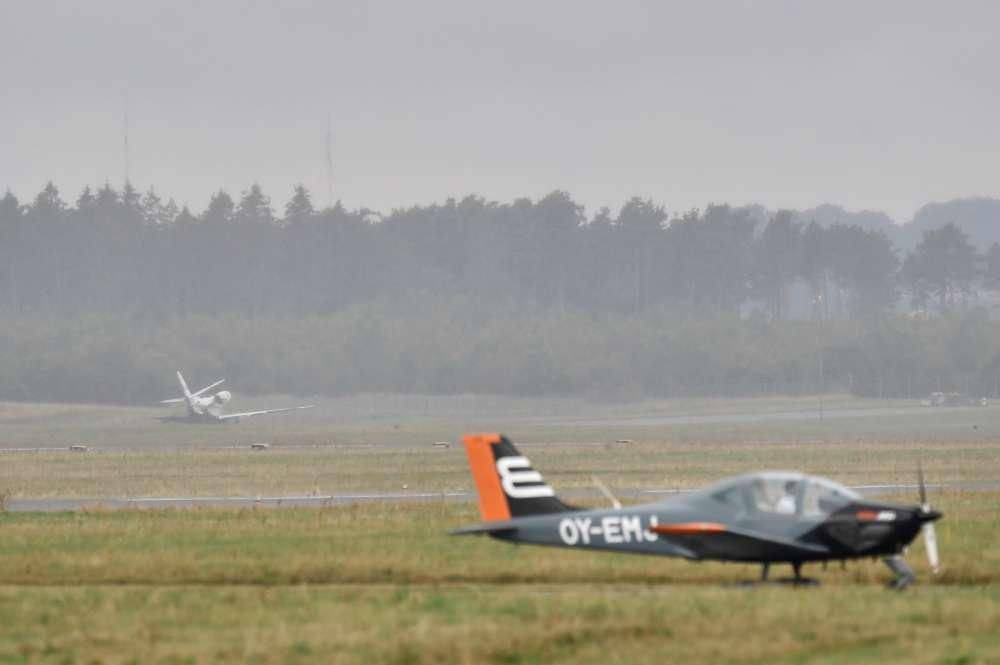 U.S. singer Pink's tour crew crash land at Danish airport