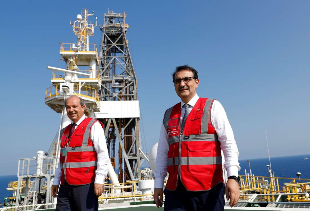 Turkey says drill ships continue work in eastern Med