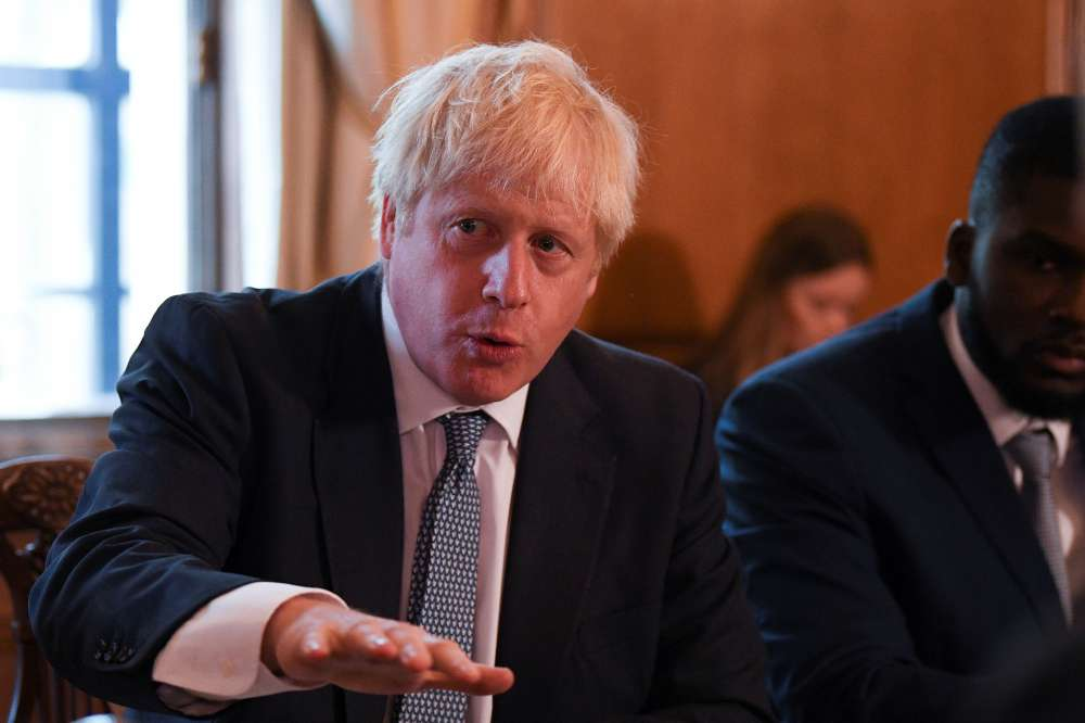 UK PM Johnson questions whether Thomas Cook bosses