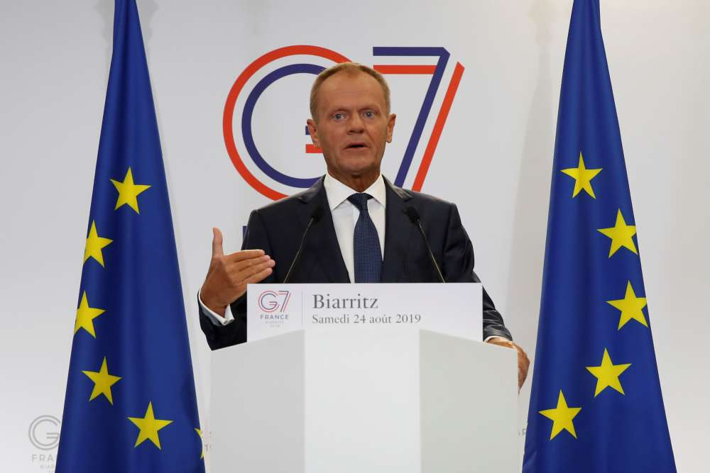 Does Johnson want to be remembered as 'Mr. No deal'? EU's Tusk hopes not