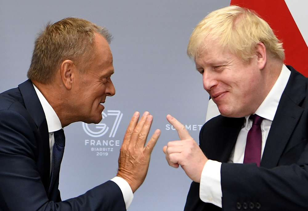 Johnson told Tusk: We leave EU on Oct. 31 whatever the circumstances