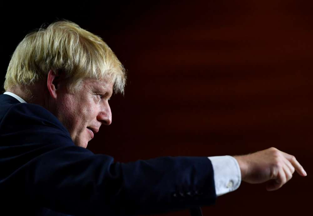 Johnson proposes to leave N.Ireland in special relationship with EU until 2025-Telegraph