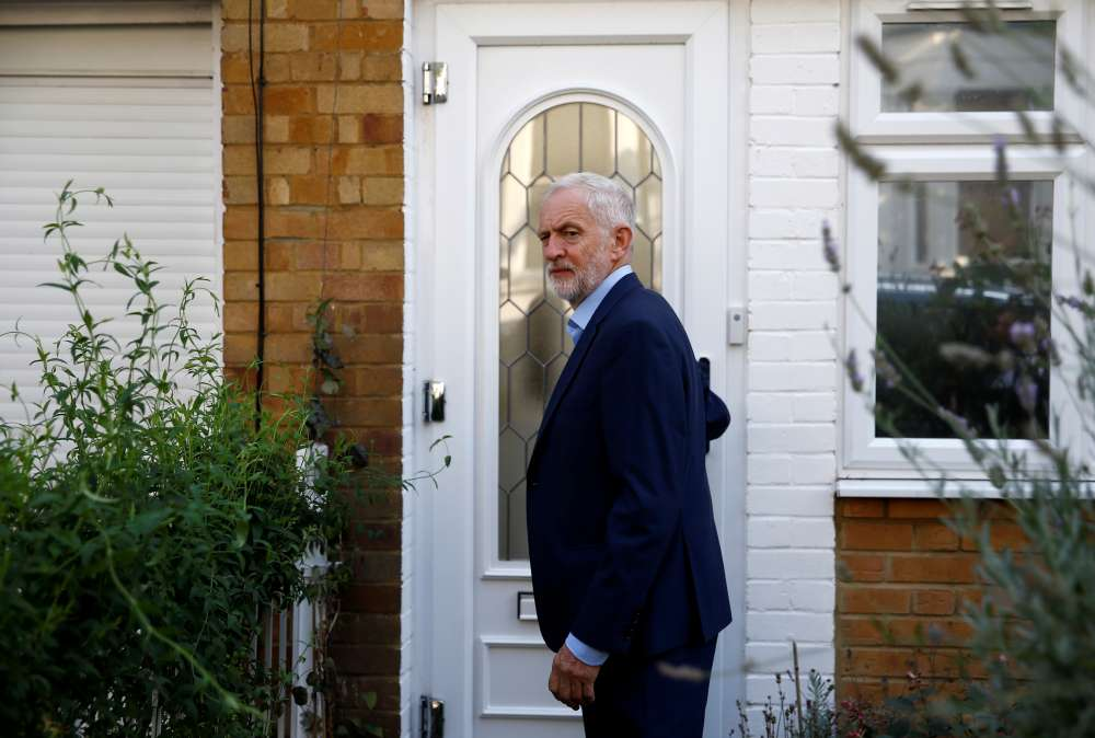 People should have final say on Brexit-UK's Labour leader Corbyn