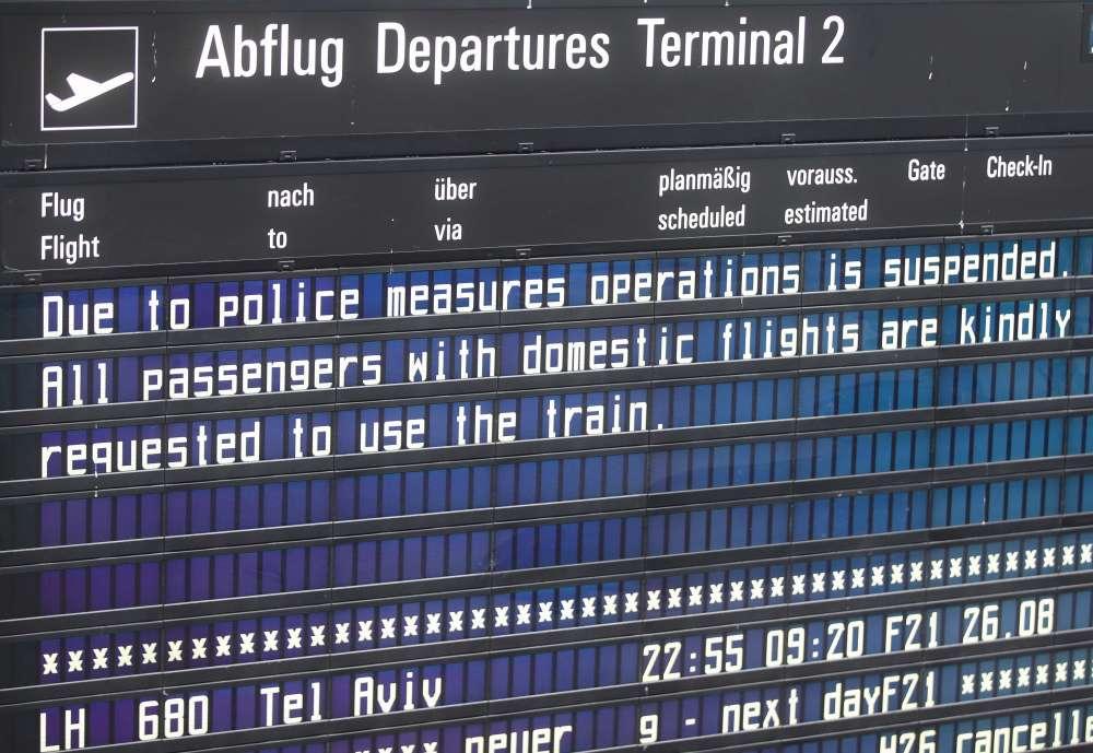 Munich Airport cancels flights over stray passenger