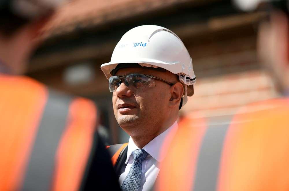 UK finance minister Javid promises