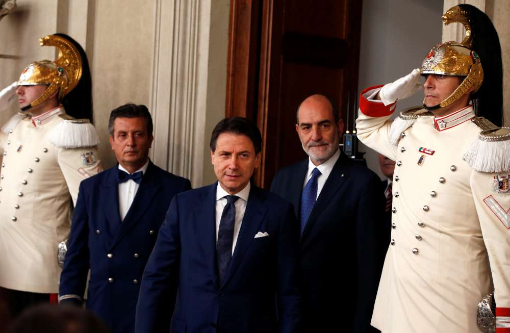 Conte accepts president's mandate to form new Italian government