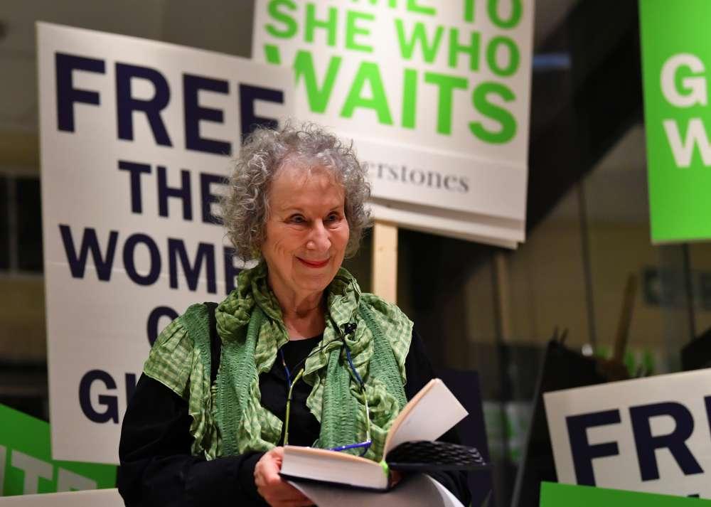 Author Atwood said global politics led to 'Handmaid's Tale' sequel