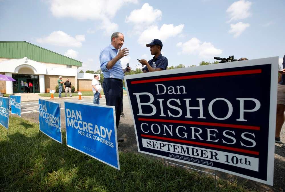 Trump-backed U.S. Republican wins North Carolina special congressional election