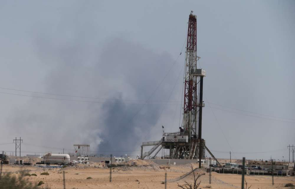 U.S. blames Iran for Saudi oil attack