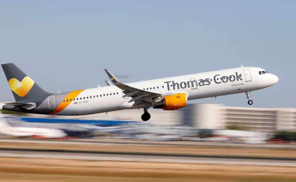 BoC announcement on collapse of Thomas Cook