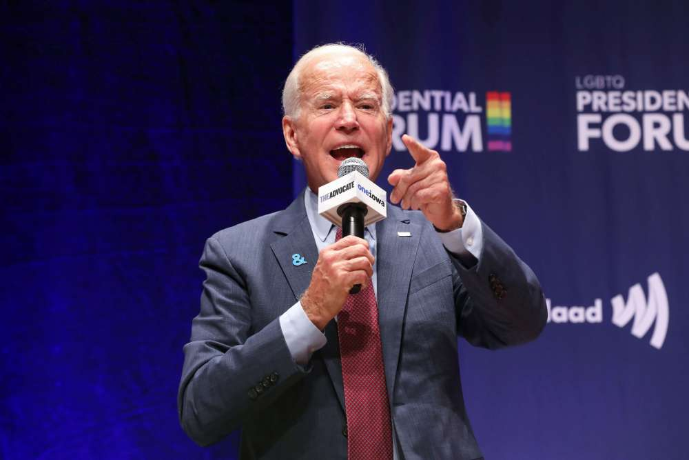 Biden's LGBTQ record draws scrutiny at presidential forum