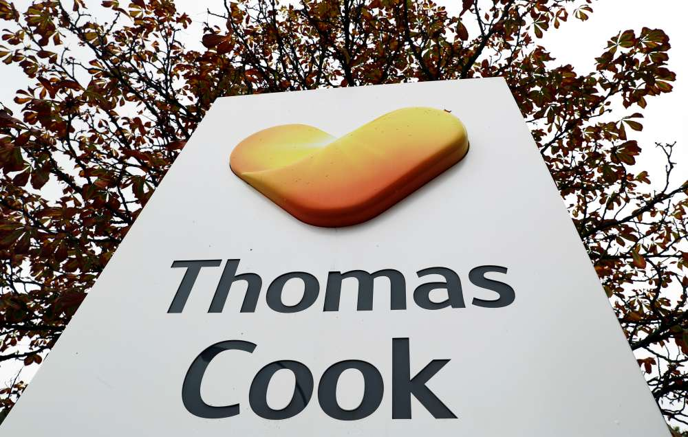 Flights disrupted at Thomas Cook's Nordic arm as it battles to survive