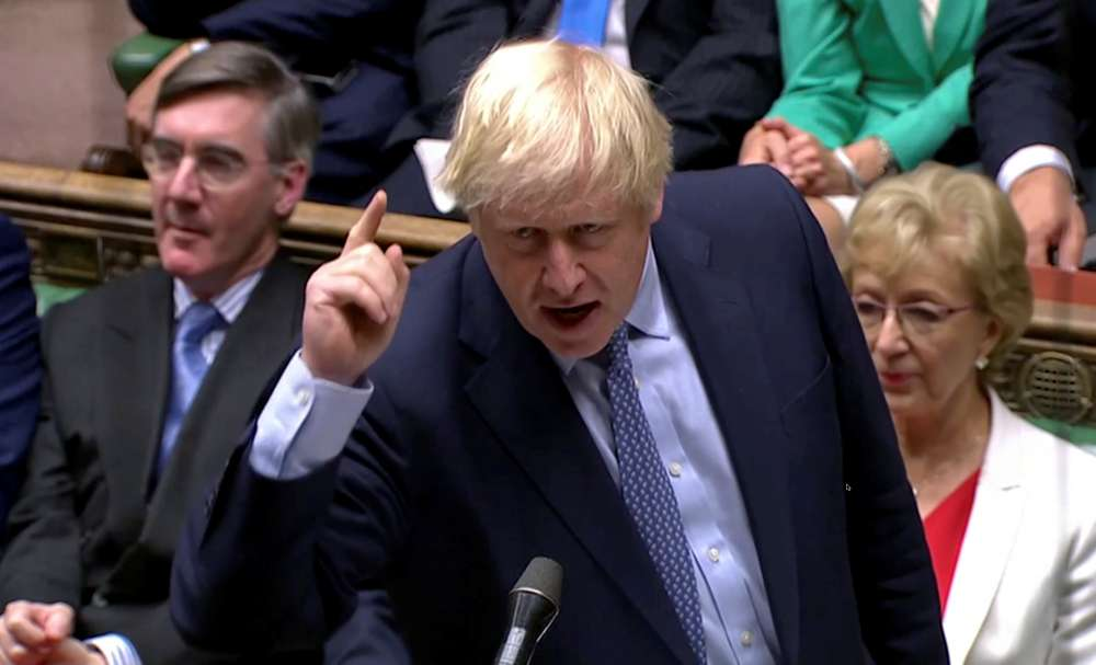 PM Johnson goads opponents to call election as Brexit chaos deepens