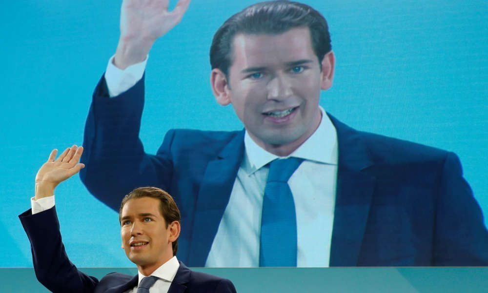 Kurz's conservatives win Austrian election