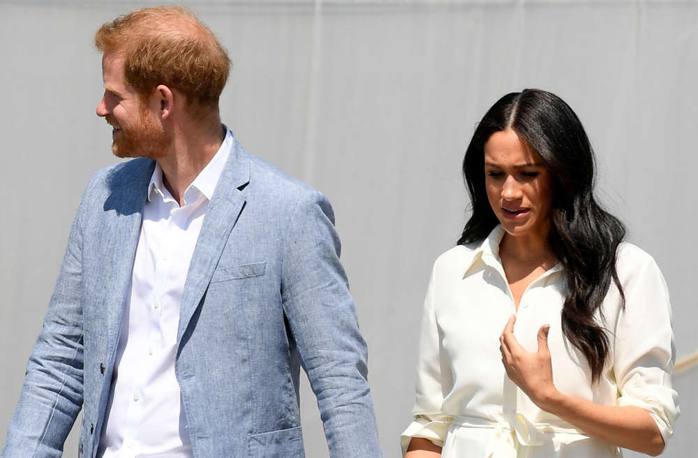 Britain's Prince Harry and wife Meghan to visit South African township