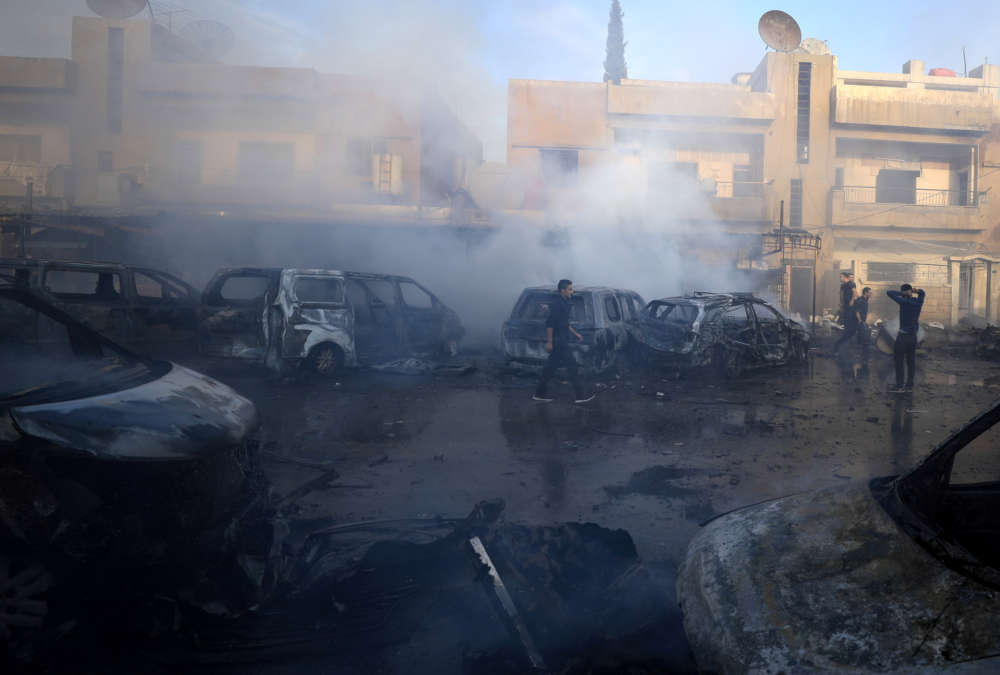 As new Syrian exodus unfolds