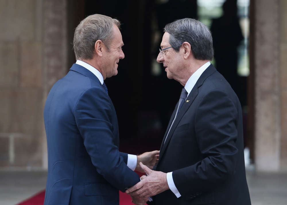 Tusk voices solidarity with Cyprus over Turkey's drilling activities
