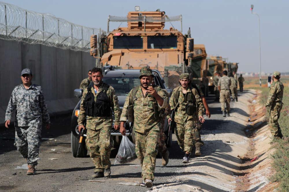 Kurdish-led SDF denies Turkey's capture of Syrian town - The latest on the invasion (pics)